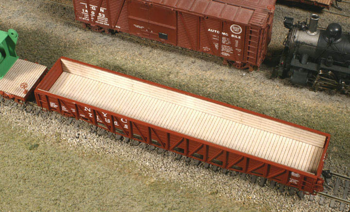 AMERICAN MODEL BUILDERS HO SCALE 296 WOOD ROOFWALK FOR ATHEARN 50/' BOXCAR A1E